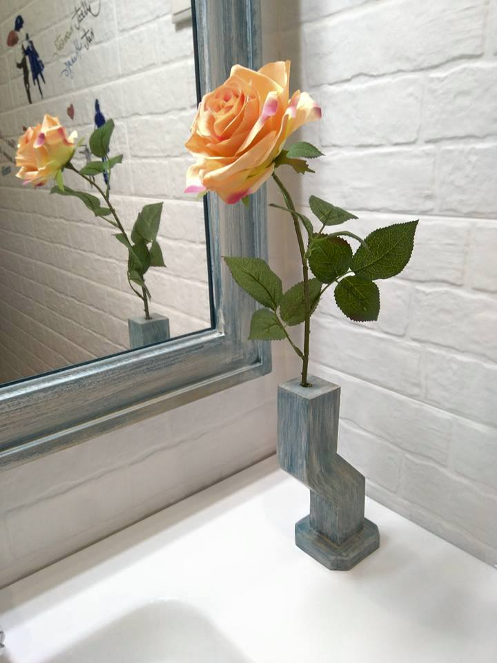 detalle de mueble de baño