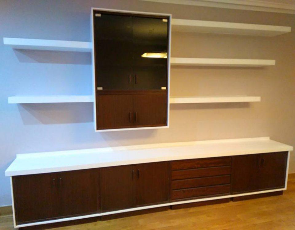 Mueble de salón en pladur